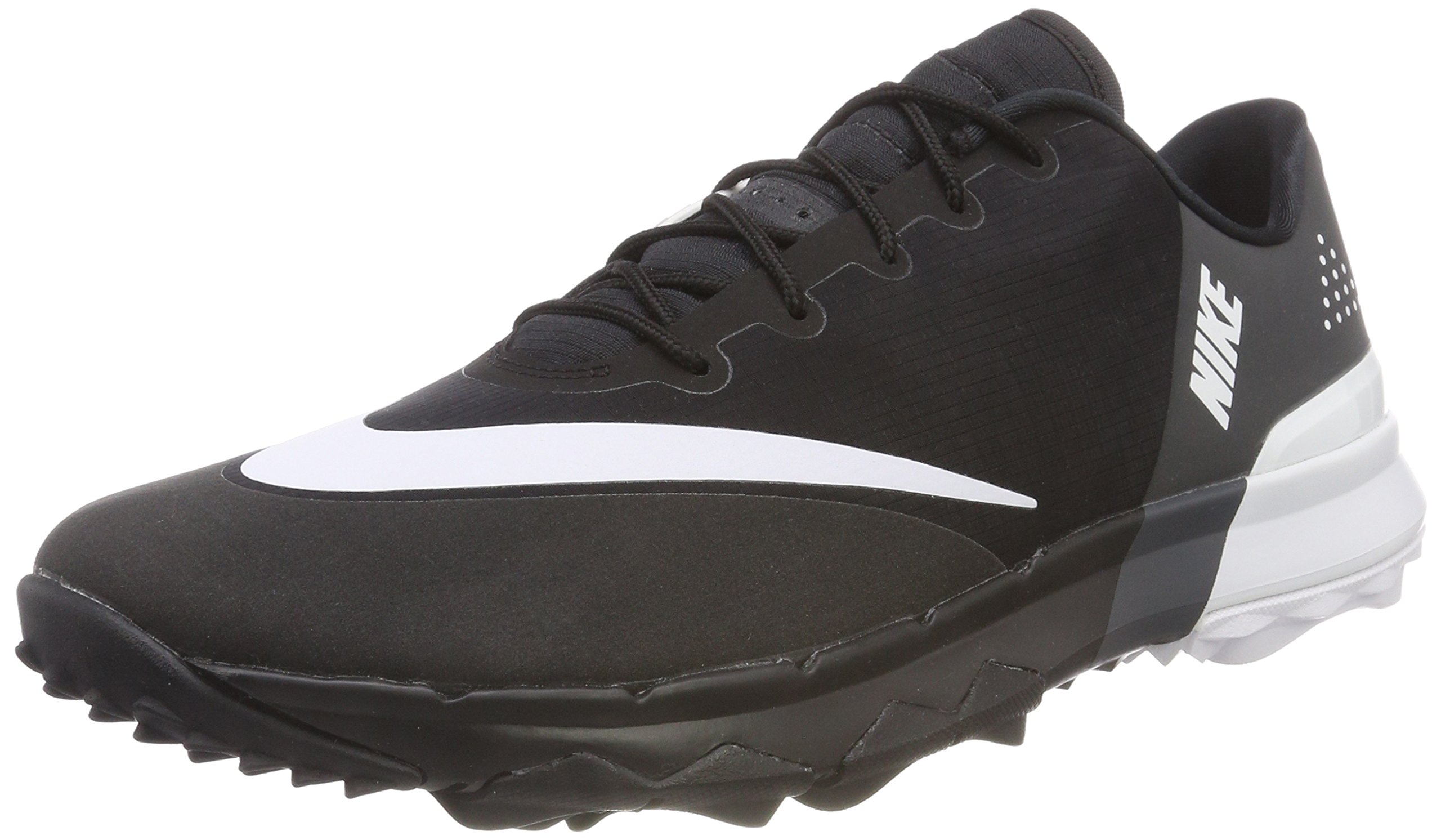 NIKE Men's FI Flex Golf Shoes, Black/White/Anthracite, 10 M US by NIKE