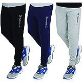 VERSATYL Men's Cotton Jogger Track Pants Combo Pack of 3