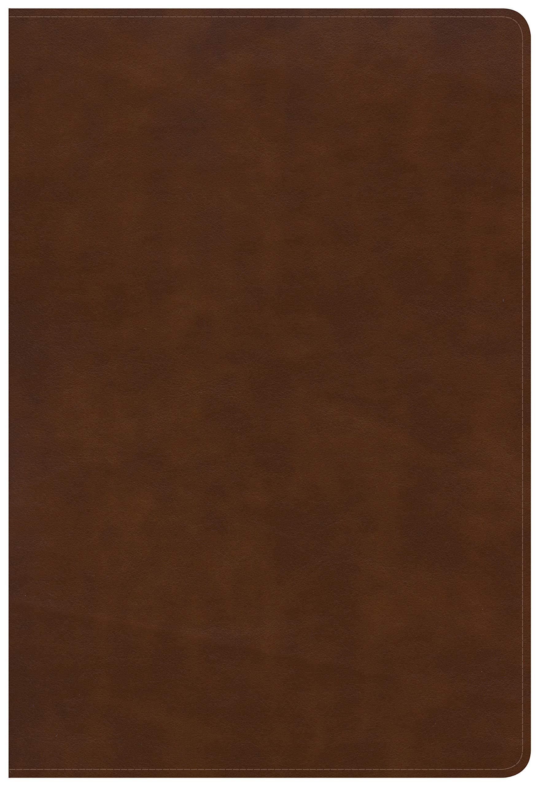 KJV Large Print Ultrathin Reference Bible, British Tan LeatherTouch, Black Letter Edition ebook