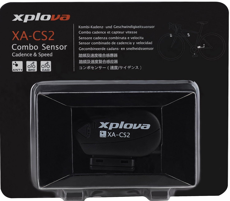 Xplova Sensor de modulaci/ón y velocidad Combo X5/con tecnolog/ía Ant negro