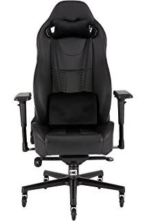 Corsair CF-9010006 WW T2 Road Warrior Gaming Chair Comfort Design, Black