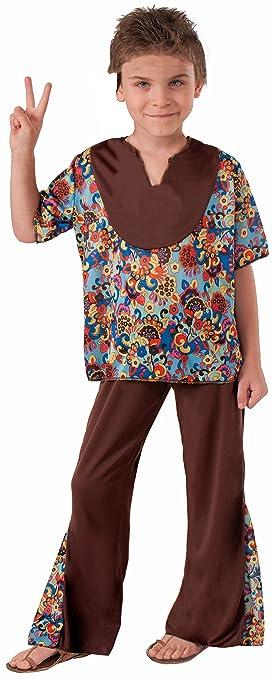 Hippie 60's Style 2-Piece Child Costume, Medium