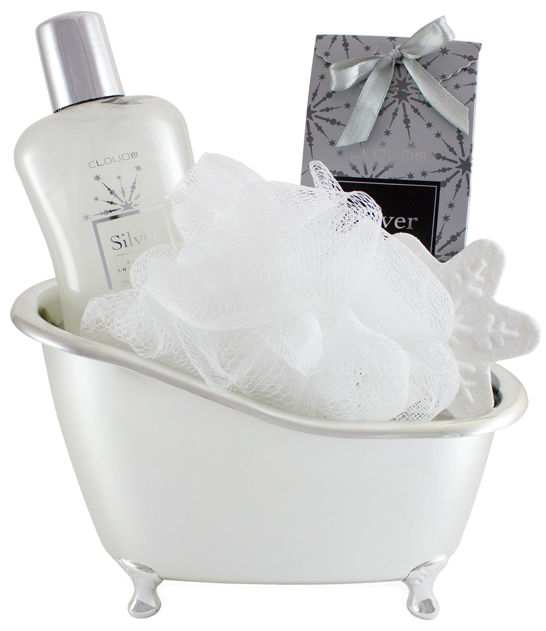 Amazon.com : BRUBAKER 5 Pcs Gift Set \'Vanilla\' Beauty Spa Set With ...