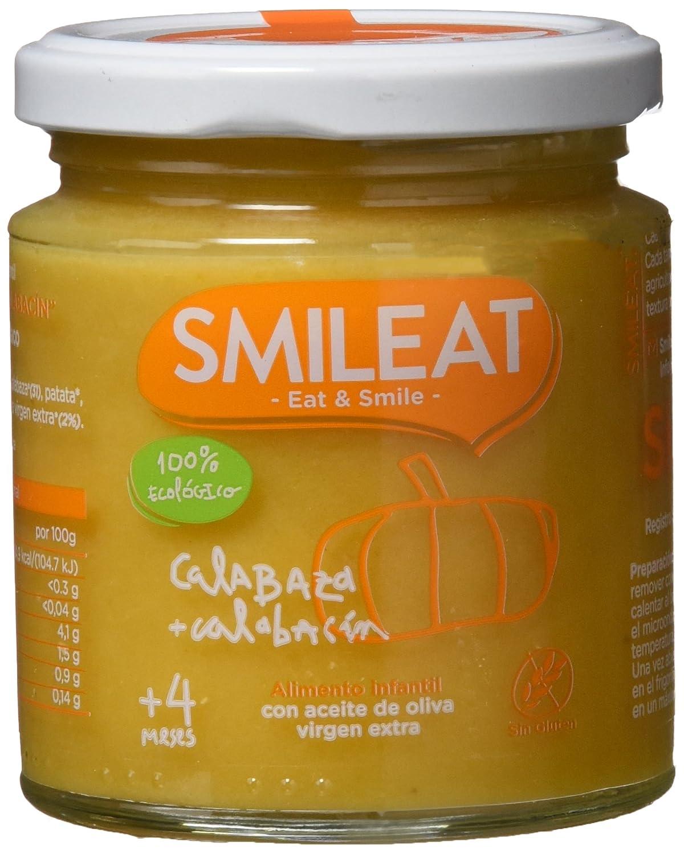 Smileat Potito de Calabaza y Calabacn - 230 gr - [Pack de 12]: Amazon.es: Alimentación y bebidas