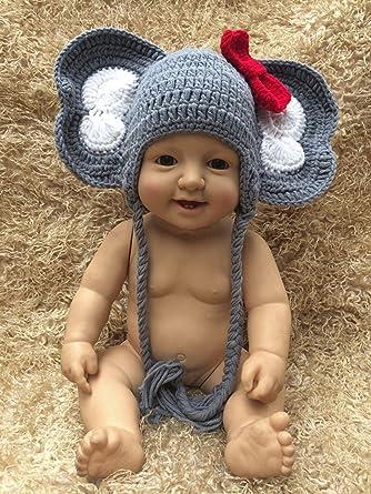 Crochet Elephant Hat/baby hat/crochet baby hat/baby girl hat ... | 445x334