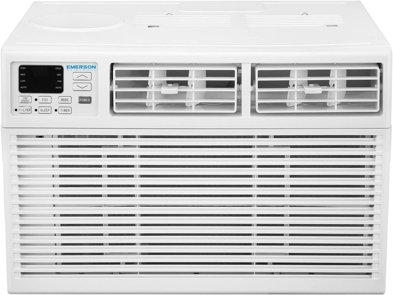 Emerson Quiet Kool EARC12RE1 12,000 BTU 115V Window Air Conditioner, White