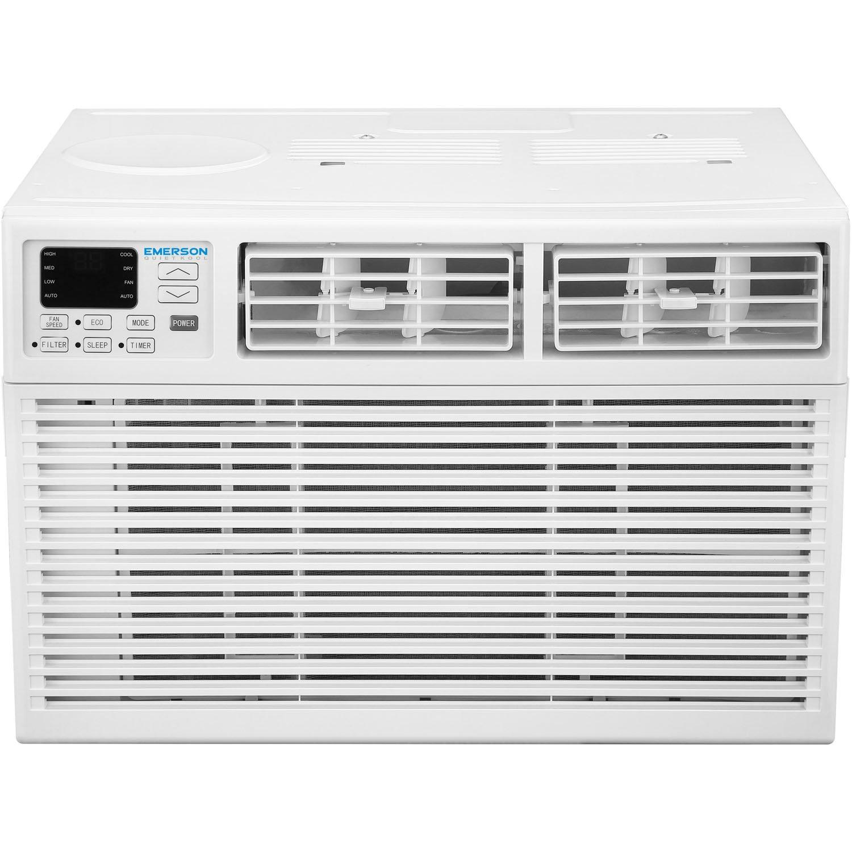 Emerson Quiet Kool EARC8RE1 8000 8,000 BTU 115V Window Air Conditioner, Standard, White by Emerson Quiet Kool