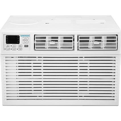 amazon com: emerson earc6re1 quiet kool 6,000 btu 115v window air  conditioner: home & kitchen