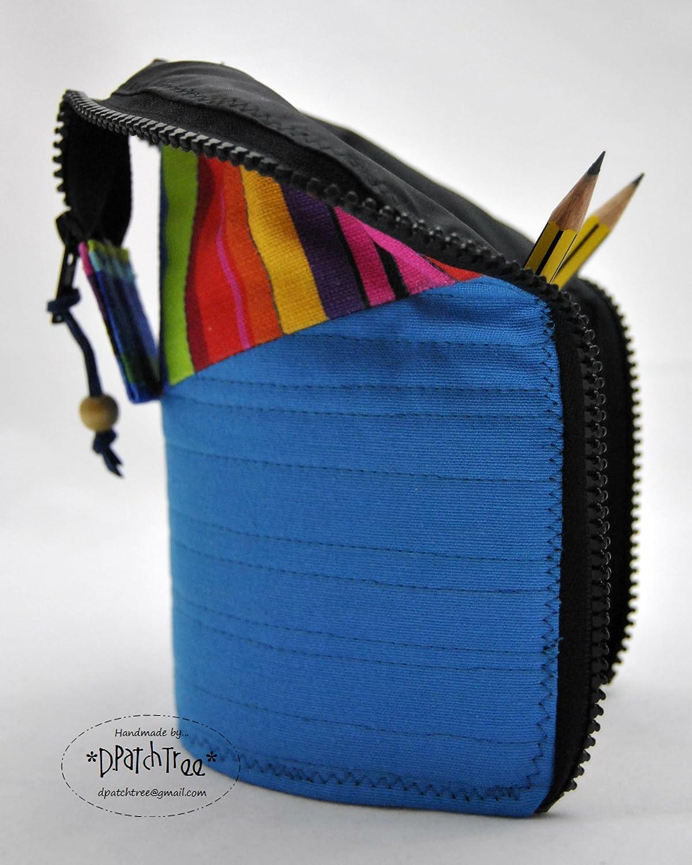 Estuche o NECESER multiuso *Rayas Multicolores* // HECHO A ...