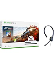 Xbox One S 1TB Forza Horizon 4 console + Official Xbox One Chat Headset