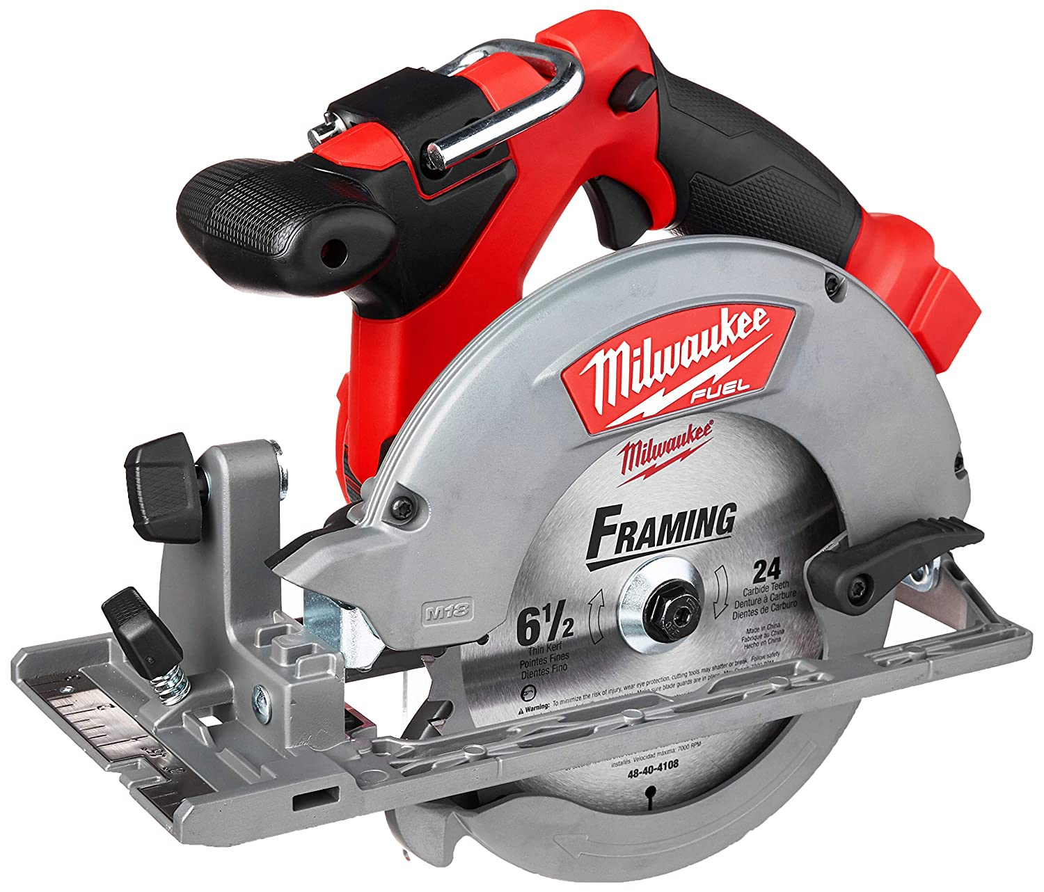 3. Milwaukee 2730-20 M18 6 1/2 Circular Saw