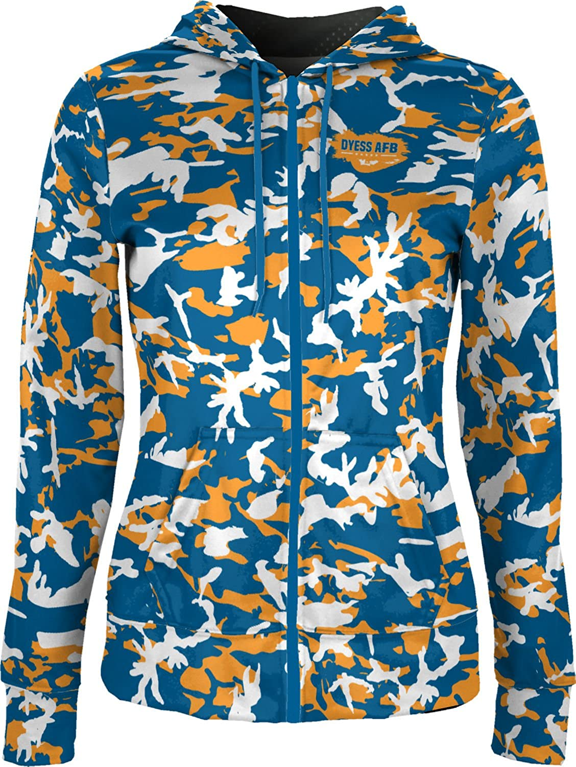 ProSphere Women's Dyess AFB Military Camo Fullzip Hoodie