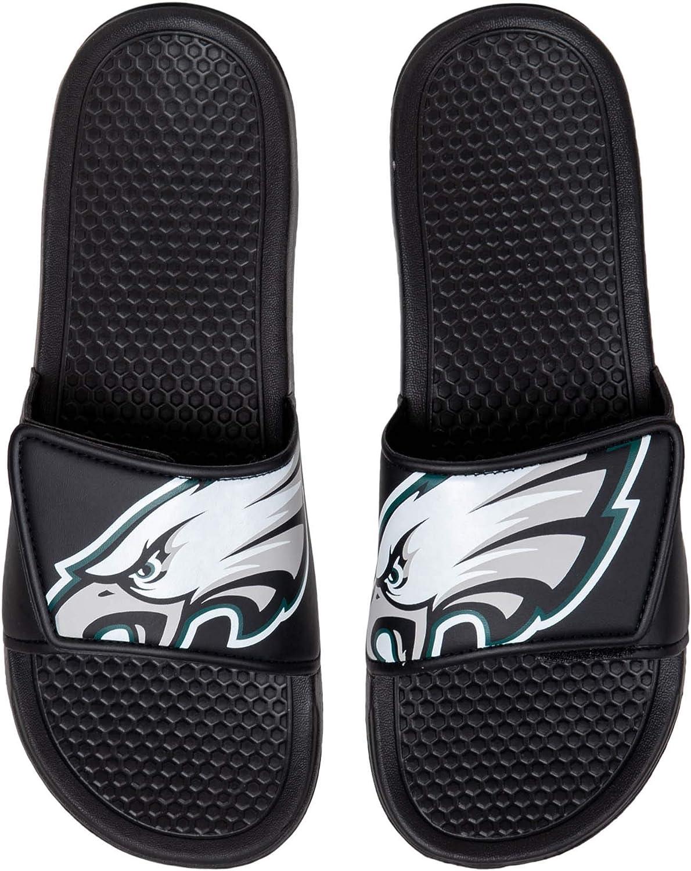 FOCO NFL Philadelphia Eagles Unisex Big Logo Slide-Big Logo Slde : Clothing