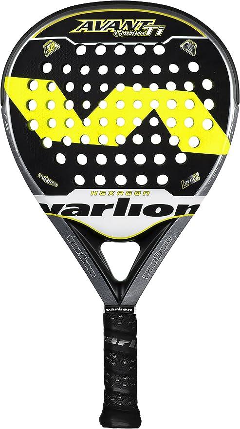 VARLION Avant Hexagon Carbon Ti - Pala de pádel, Color Amarillo ...