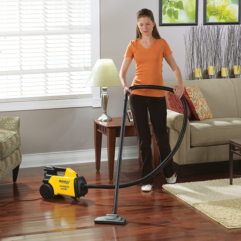Eureka Mighty Mite Canister Vacuum, 3670G - Corded