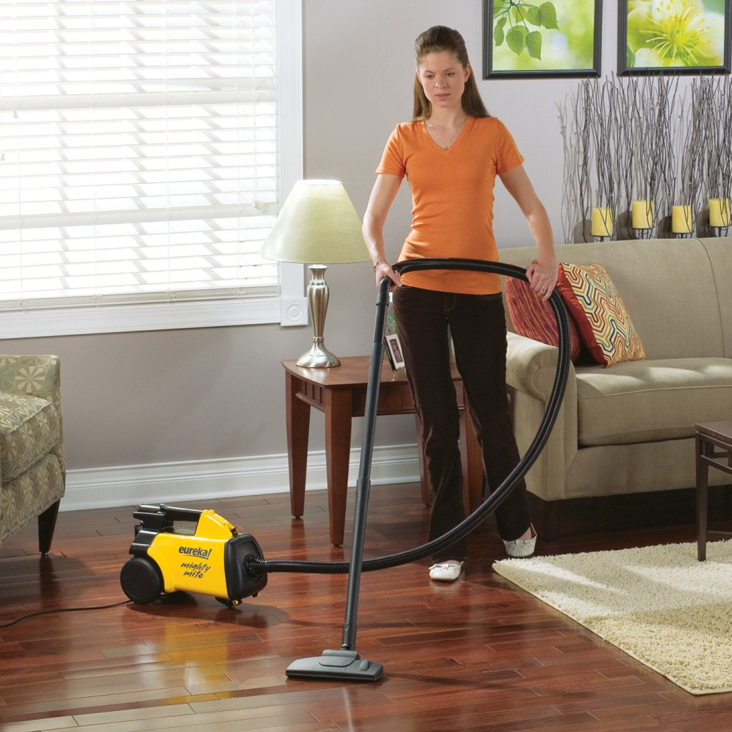 Kitchen Floor Vacuum Amazoncom Eureka Mighty Mite Canister Vacuum 3670g Corded