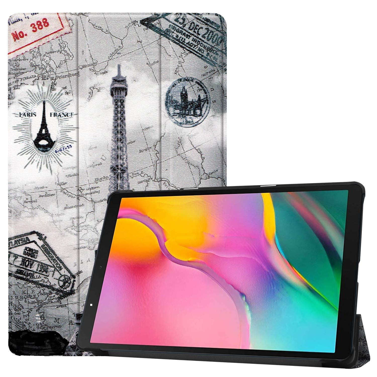 Fmway PU Leather Case Cover for Samsung Galaxy Tab A 10.1 T510 ...