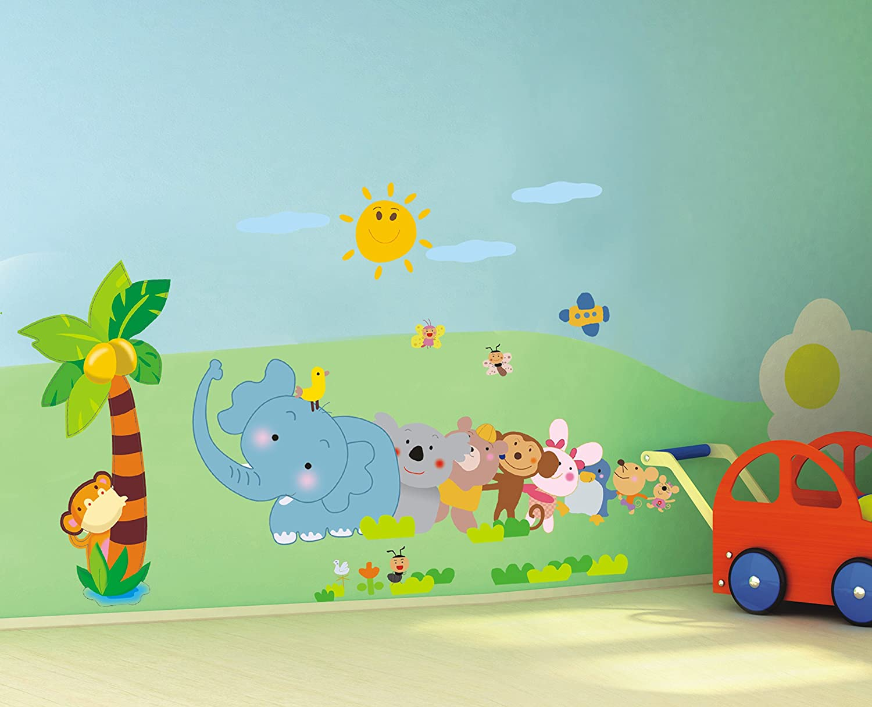 Clouds Wall Mural 教室幼儿园装饰画动