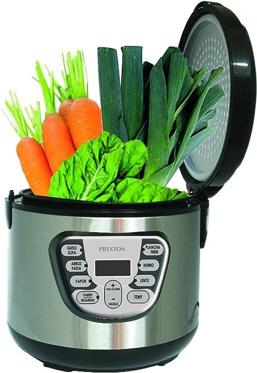 Prixton Robot de cocina multifunción programable 5L 900W: Prixton: Amazon.es: Hogar