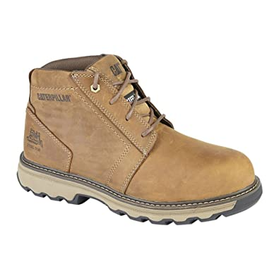 ff923b867f58 Caterpillar Cat ® Parker Safety Boots Dark Beige: Amazon.co.uk: Shoes & Bags