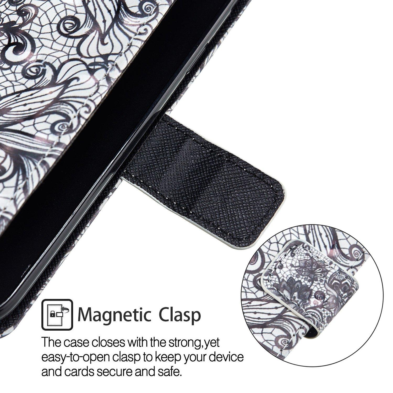Felfy Glitter Carcasa in Piel Compatible con Xiaomi Redmi Note 4X//Note 4 Funda Cuero Libro Case,Brillante Brillo Billetera Pintado Dise/ño Oso Patr/ón Flip Wallet PU Case Magn/ético Slots