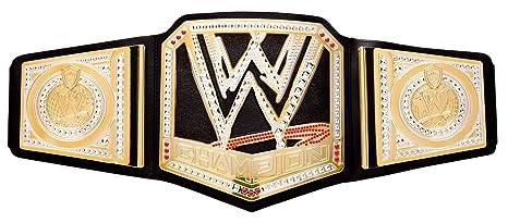 all'ingrosso online prezzo speciale per come ottenere WWE Championship Cintura: Amazon.it: Giochi e giocattoli