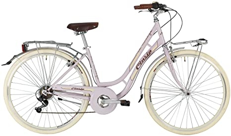 Cicli Cinzia Bicicletta 28 Citybike Donna Mia 6v Revo Shift V