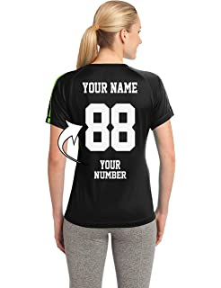 Tee Miracle Custom Soccer Jerseys for Ladies - MAKE YOUR OWN JERSEY T Shirts & Team