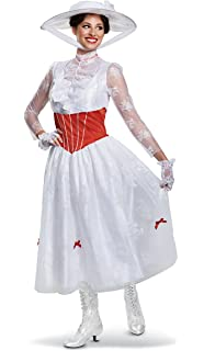 Amazon.com: CosplayDiy Womens Dress for Mary Poppins Mrs ...