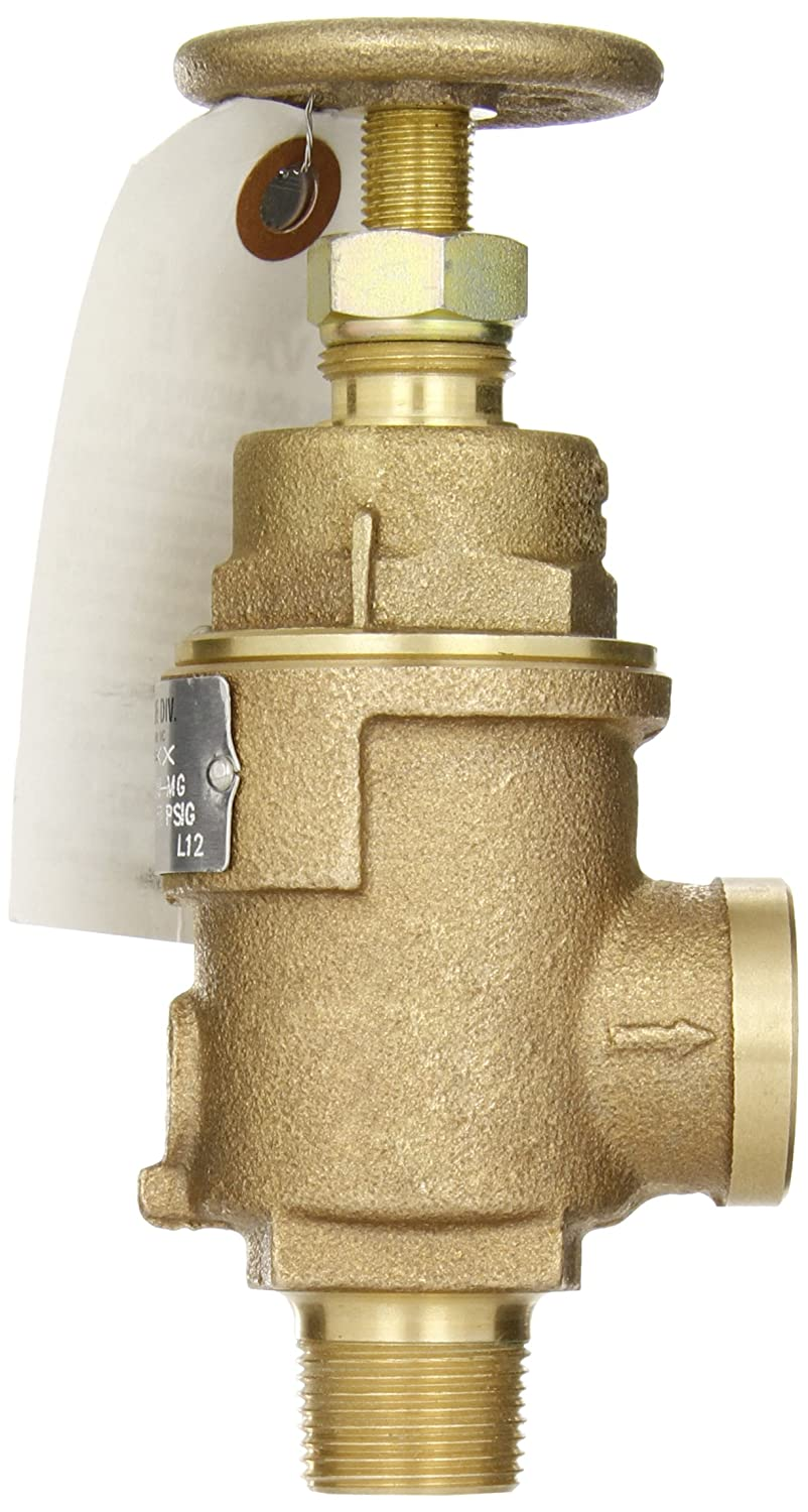 150 Preset Pressure 3//4 NPT Male Inlet x 1 NPT Female Outlet EPR Soft Seat Kunkle 6010EDE01-AM0150 Bronze ASME Safety Relief Valve for Steam