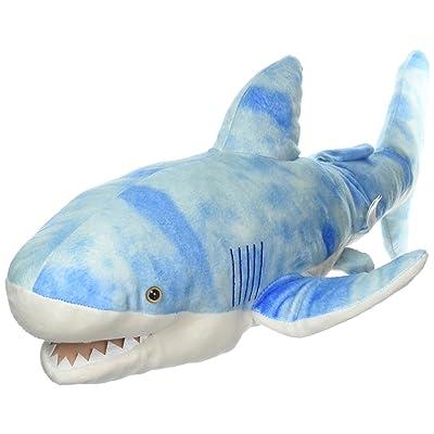 "Sunny Toys 24"" Shark Blue Hand Puppet: Toys & Games"