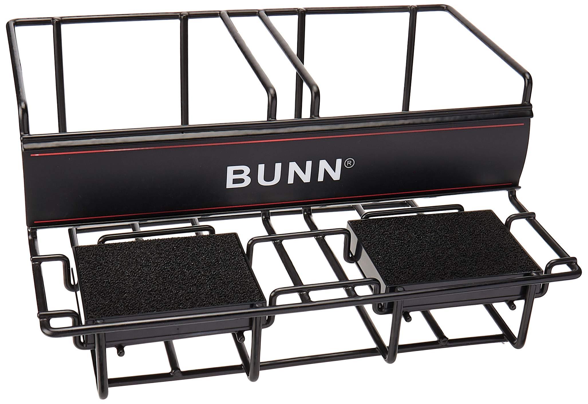 BUNN 35728 2 Lower Universal Airpot Rack, Stainless Steel by BUNN
