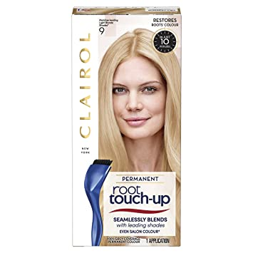 Clairol Root Touch Up Permanent Hair Dye 9 Light Blonde Amazon Co