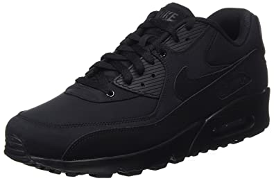 Nike Air Max 90 Essential, Baskets Homme, Noir (Black/black/black