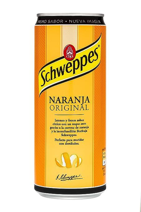 Schweppes Original Bebida Refrescante con Sabor de Naranja - 330 ml
