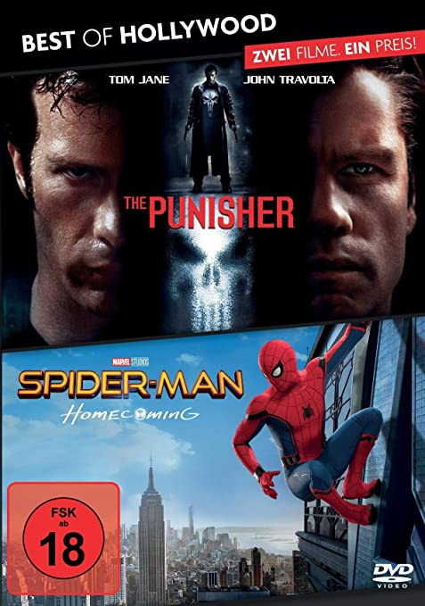 Best of Hollywood - 2 Movie Collectors Pack: The Punisher / Spider-Man: Homecoming Alemania DVD: Amazon.es: Cine y Series TV