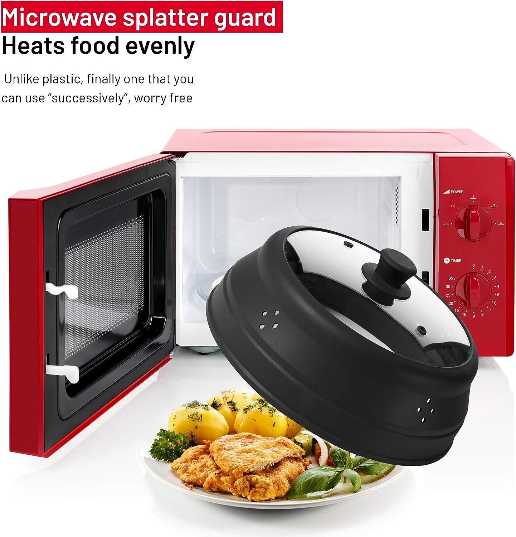 Amazon.com: Bezrat - Funda para plato de microondas plegable ...