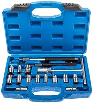 Set Diesel Werkzeug KFZ Einspritzdüse Fräser Injektoren Auszieher CDI 40tlg