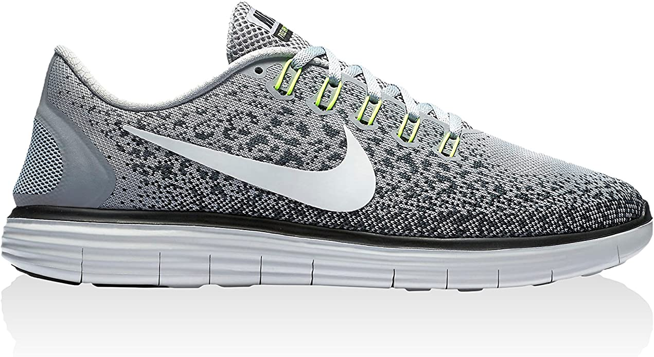 Nike Free RN Distance, Chaussures de Running Homme, Gris