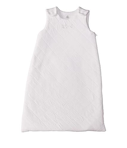 Petit Bateau 32065 - Saco de dormir para bebé, color blanco
