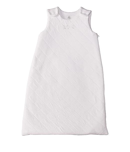 Petit Bateau 32065 - Saco de dormir para bebé, color blanco: Amazon.es: Bebé