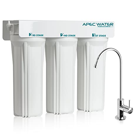APEC WFS-1000 Super Capacity Premium Quality 3 Stage Under-Sink ...