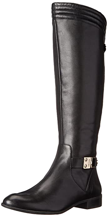 Amazon.com: Anne Klein Women's Kaydon Leather Riding Boot: Shoes