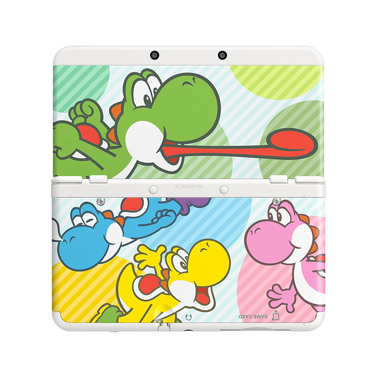 Amazon.com: Nintendo New 3DS Cover Plate - Multicolour Yoshi ...