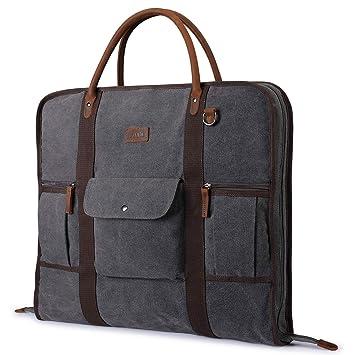Amazon.com: Bolsa de transporte para ropa de viaje S-ZONE de ...