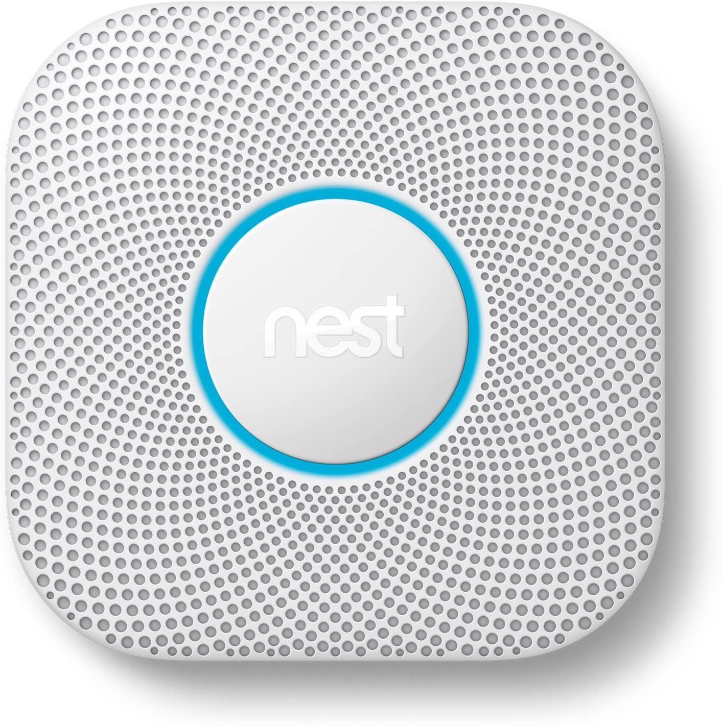 Google Nest Protect Smoke + Carbon Monoxide Alarm, S3000BWES, 2nd ...