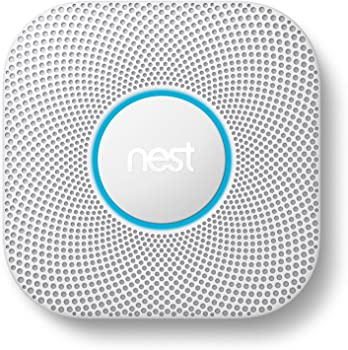 Google Nest Protect Wired (or Battery) Smoke + Carbon Monoxide Alarm