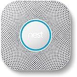 Nest s3000bwit Alarme fumée et Co, Blanc