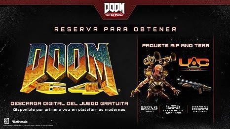 Doom Eternal Edición Coleccionista - PC: Amazon.es: Videojuegos