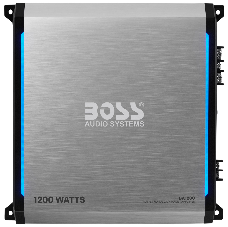 Boss Audio Elite Ba1200 Monoblock Car Amplifier 1200 Collection Scheme Power High Mosfets Watts Class A B 2 4 Ohm Stable Mosfet Supply Gadget Town